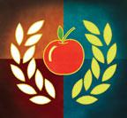 wreath apple (3M teaching award)